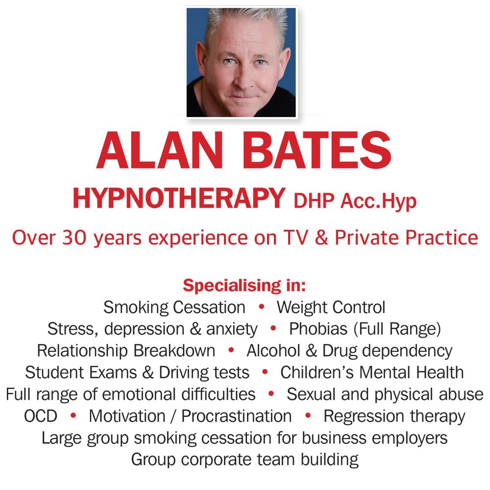 Alan Bates Hypnotherapy